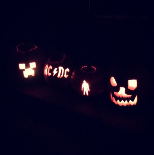 family pumpkins