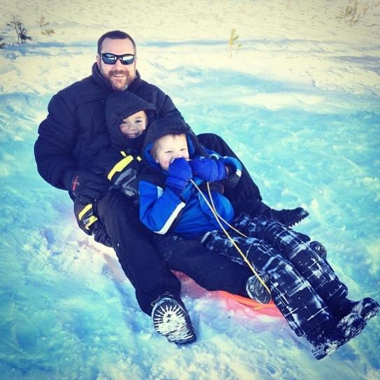 3 man sled