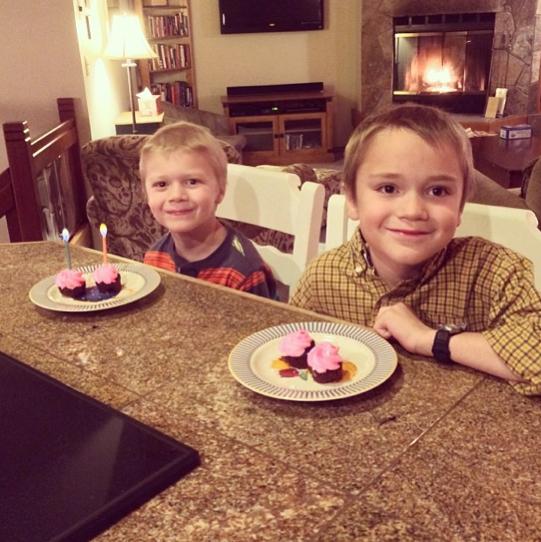 Sunriver house cupcakes