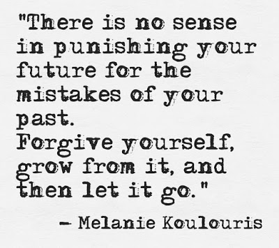 there is no sense in punishing yourself